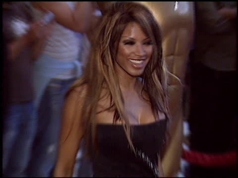 traci bingham at the world music awards 2005 at the kodak theatre in hollywood, california on august 31, 2005. - traci bingham stock videos & royalty-free footage