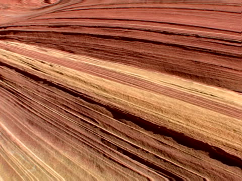 tracing the sedimentary layers - sandstone stock videos and b-roll footage