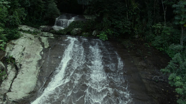 track down face of waterfall, - south america stock videos & royalty-free footage