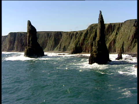 Track forward between Stacks of Duncansby Caithness