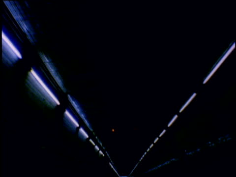 track forwards through tunnel - fluorescent stock videos & royalty-free footage
