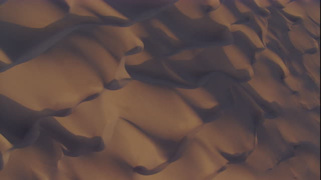 Track over desert dunes, Skeleton Coast, Namibia