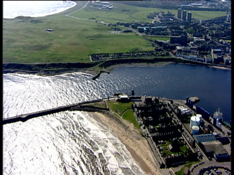 Track over docks Aberdeen