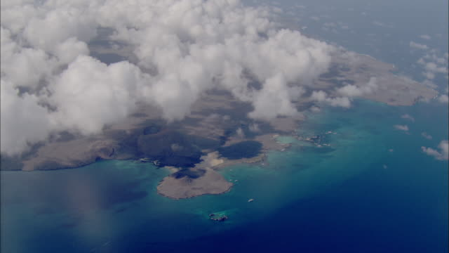 track over floreana available in hd. - galapagos islands stock videos & royalty-free footage