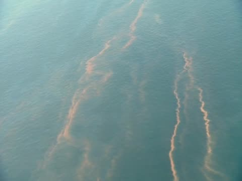 Track over major oil spill along the Gulf of Mexico