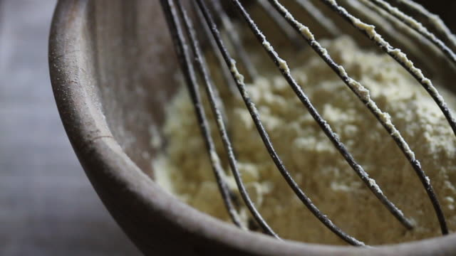 track past garam flour - wire whisk stock videos and b-roll footage