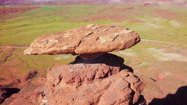 MS HA Track past Mexican Hat rock formation