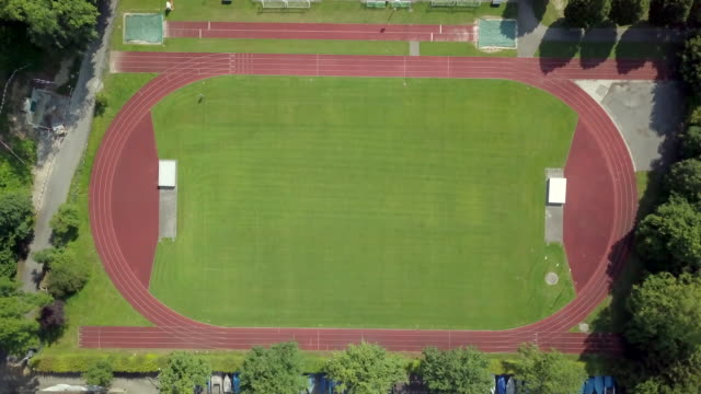 track stadium - track and field stock videos & royalty-free footage