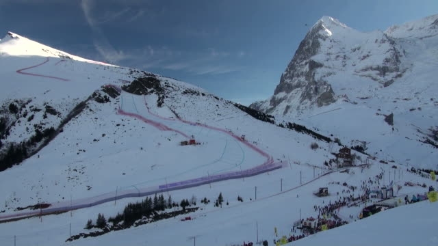 WS Tracker at lauberhorn ski race / Wegen, Bernese Oberland, Switzerland