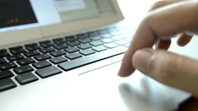 TrackPad ノートパソコン
