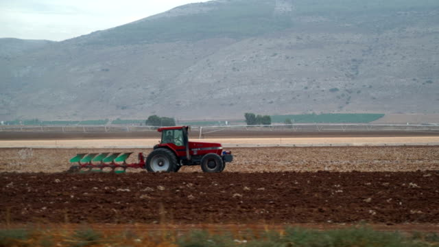 Tractor on Kibbutz