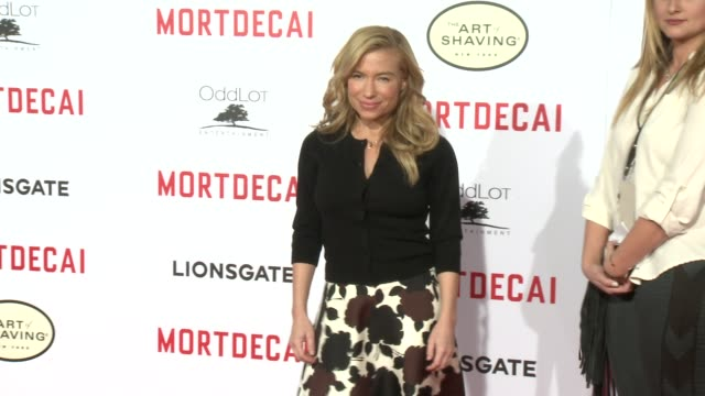 Tracy Anderson at the Mortdecai Los Angeles Premiere at TCL Chinese Theatre on January 21 2015 in Hollywood California