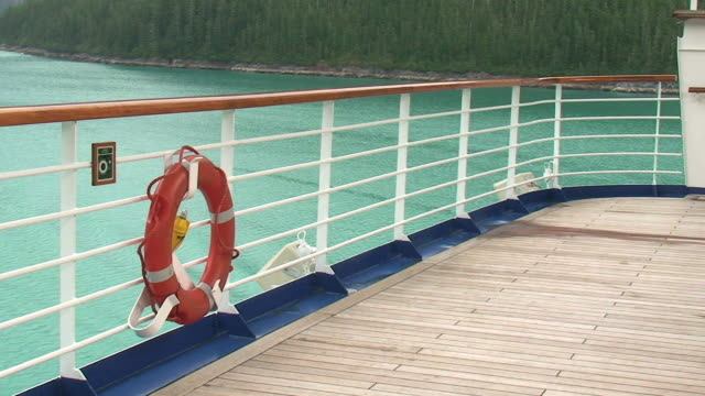 tracy arm fjord - alaska - railing stock videos & royalty-free footage