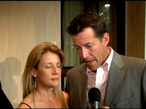Tracy Austin and James Denton on women's sport at the Women's Sports Foundation Presents Inaugural The Billies at the Beverly Hilton in Beverly Hills...