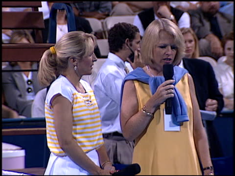 Tracy Austin at the Permanent Charities Evening at the Net at UCLA Tennis Center in Westwood California on July 30 1996