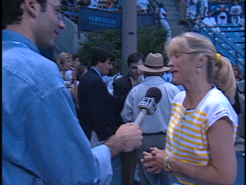 Tracy Austin at the Permanent Charities Evening at the Net at UCLA Tennis Center Westwood in Westwood CA
