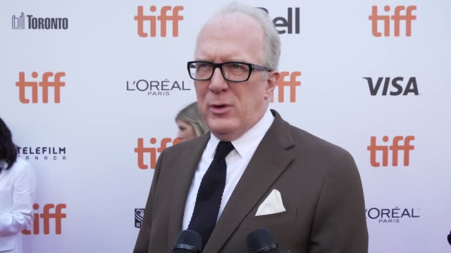 interview tracy letts on what he enjoyed most about playing henry ford talks about the passion these characters shared and the challenge of racing... - toronto stock videos & royalty-free footage