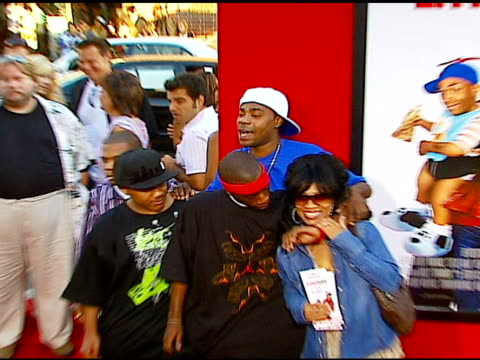 Tracy Morgan and friends at the 'Little Man' Premiere at the Mann National Theatre in Westwood California on July 6 2006