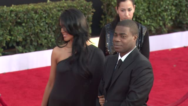 Tracy Morgan and guest at the 17th Annual Screen Actors Guild Awards Arrivals at Los Angeles CA