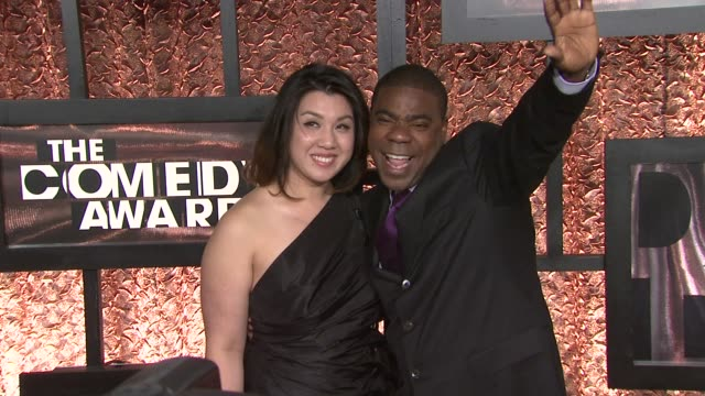 Tracy Morgan and guest at the The First Annual Comedy Awards Arrivals at New York NY