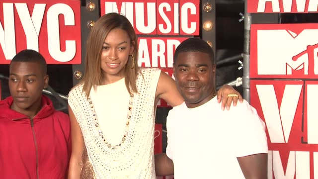 Tracy Morgan and guests at the 2009 MTV Video Music Awards at New York NY