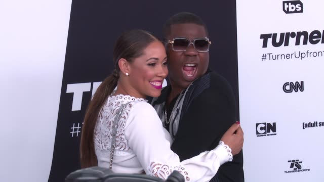 Tracy Morgan and Megan Wollover at 2017 Turner Upfront at 33rd Street on May 17 2017 in New York City