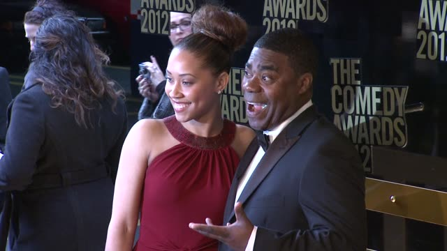 Tracy Morgan and Megan Wollover at The Comedy Awards 2012 Arrivals on 4/28/2012 in New York NY United States