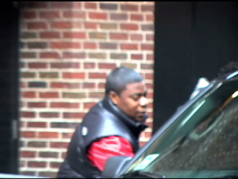 Tracy Morgan at 'Late Show With David Letterman' at the Celebrity Sightings in New York at New York NY