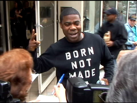 Tracy Morgan at Live with Regis Kelly in New York at the Celebrity Sightings in New York at New York NY