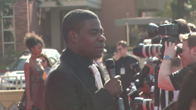 Tracy Morgan at the 39th Annual NAACP Image Awards at the Shrine Auditorium in Los Angeles California on February 14 2008