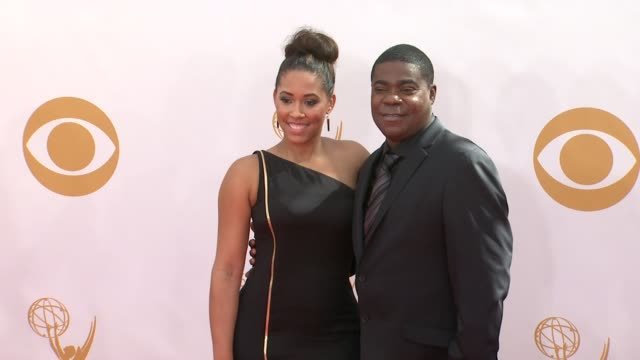tracy morgan at the 65th annual primetime emmy awards - arrivals in los angeles, ca, on 9/22/13. - annual primetime emmy awards stock-videos und b-roll-filmmaterial