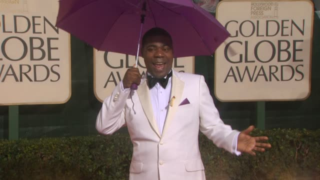 Tracy Morgan at the 67th Annual Golden Globe Awards Arrivals Part 4 at Beverly Hills CA