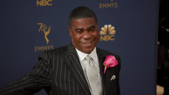 tracy morgan at the 70th emmy awards arrivals at microsoft theater on september 17 2018 in los angeles california - emmy awards stock-videos und b-roll-filmmaterial