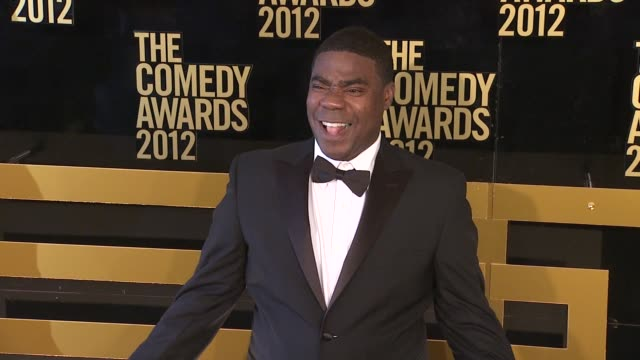 Tracy Morgan at The Comedy Awards 2012 Arrivals on 4/28/2012 in New York NY United States