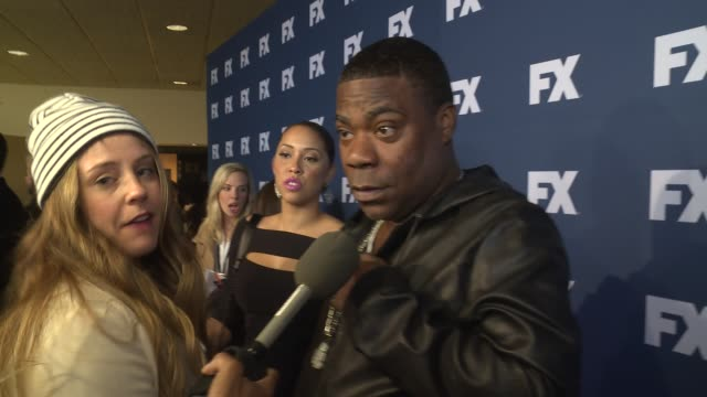 Tracy Morgan at The People v OJ Simpson American Crime Story FX Networks Upfront Screening at AMC Empire 25 theater on March 30 2016 in New York City