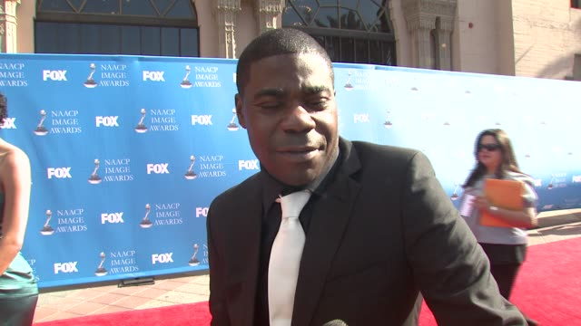 tracy morgan on '30 rock' the event celebrating diversity and his valentine's day at the 39th annual naacp image awards at the shrine auditorium in... - television show stock videos & royalty-free footage
