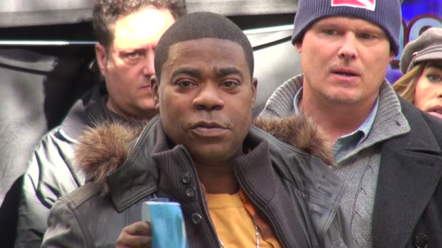 Tracy Morgan on the set of 30 Rock in New York