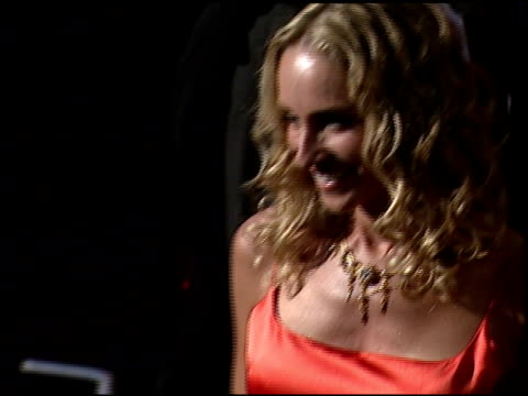 stockvideo's en b-roll-footage met tracy pollan at the 1999 emmy awards at the shrine auditorium in los angeles, california on september 12, 1999. - tracy pollan