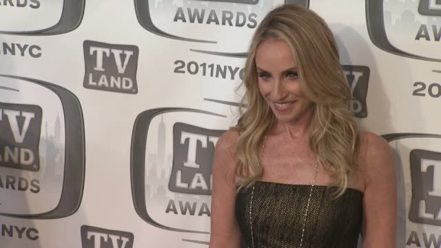 Tracy Pollan at the 9th Annual TV Land Awards Arrivals at New York NY