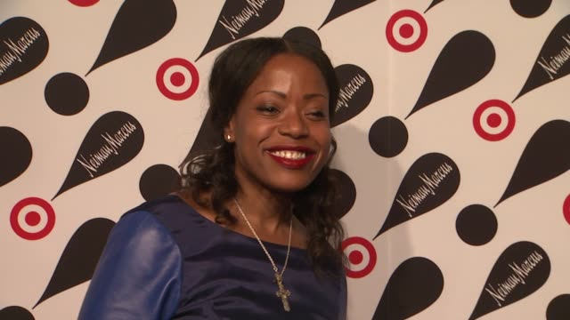 tracy reese at target neiman marcus holiday collection launch event tracy reese at target neiman marcus holiday coll on november 28 2012 in new york... - neiman marcus stock videos & royalty-free footage
