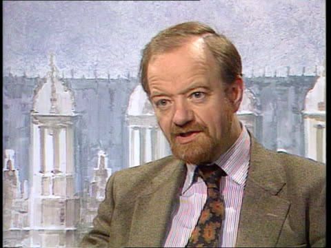 Trade balance of payments deficit increases ITN London Westminster CMS Robin Cook MP intvwd SOF issue of growth in imports must be addressed Michael...