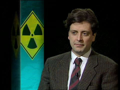 location john hassard intvwd sof export of nuclear expertise from former soviet union is a reality - uranium stock videos & royalty-free footage