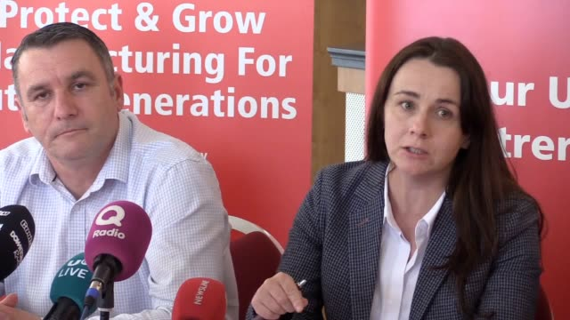 trade unionists representing bombardier belfast workers said they would raise hell if an appropriate buyer was not found for the site press... - trade union stock videos & royalty-free footage