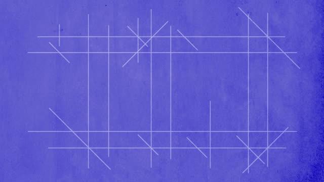 Trademark drawn on blueprint