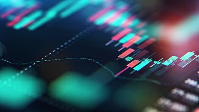 証券取引所での取引 - イーサリアム点の映像素材/bロール