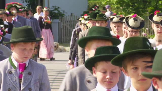 Traditional Bavarian Costume Parade