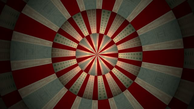 traditional circus background pattern - multi coloured stock videos & royalty-free footage