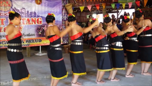 Traditional dance Borneo