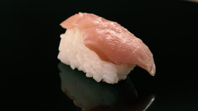"traditional dining out  japanese food, sushi ""tyutoro"" - sushi video stock e b–roll"