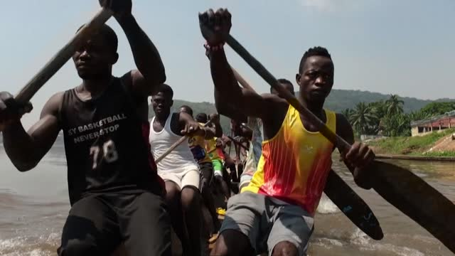 CAF: Traditional canoe racing on the rise again in Central Africa amid civil war